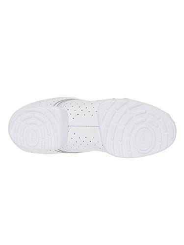 Chaussures Bianco Ballo Chaussure Basse Danse Blanc Scarpe Nero De Da Bassi Rumpf Nero Scarpe Rumpf qvnx6ZRtY