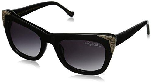 Marilyn Monroe Women's Elsie Rectangle Sunglasses, Noir, 52 - Sunglasses Marilyn