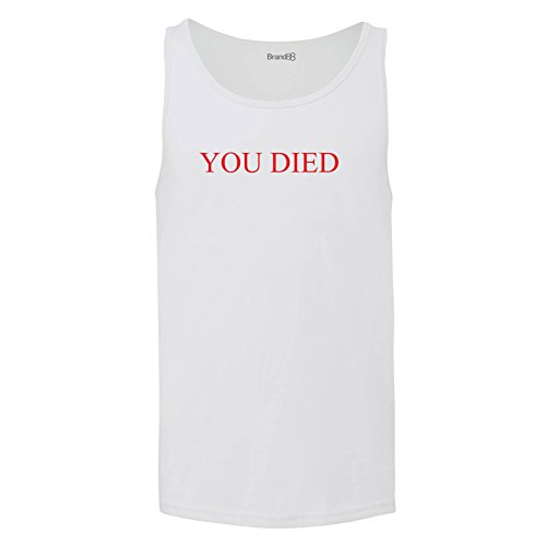 Price comparison product image You Died,  Jersey Vest - White 2XL
