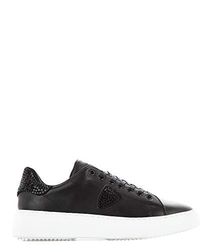Model Philippe Bglddv02 Pelle Nero Sneakers Donna qddgYC