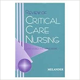 Review of Critical Care Nursing: Case Studies & Applications