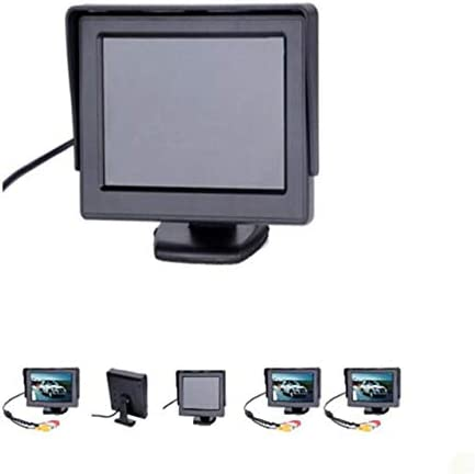 Accessories FPV 4.3 Inch DC 12V V1//V2 Auto Switching TFT LCD Monitor Screen Full Color Display Swivel Function for RC Models FPV Systems