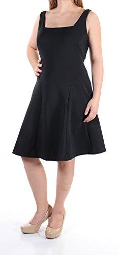 Lauren Ralph Lauren Womens Cutout Sleeveless Casual Dress Black 16