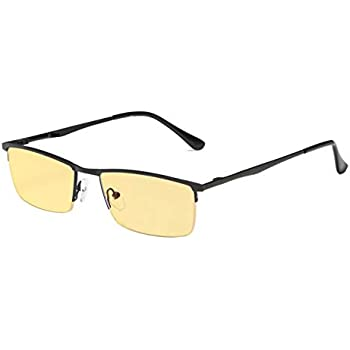 Amazon.com: Eyekepper Blue Light Blocking Glasses Half-Rim
