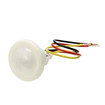 Generic Interruptor de luz infrarrojo AC 220V del sensor de movimiento de 100W para la luz