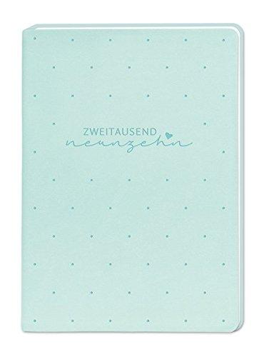 Terminplaner Lederlook A6 Mint (Zweitausend Neunzehn) 2019 Kalender – andere Kalender, 31. Mai 2018 3862295583 Kalender / Zeitplansysteme Zeitplansysteme / Kalender Termin-Kalender