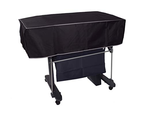 """The Perfect Dust Cover, Black Nylon Short Cover for Canon imagePROGRAF TM-305 MFP T36 Printer, Anti Static and Waterproof Cover Dimensions 51""""W x 34""""D x 12""""H by The Perfect Dust Cover LLC"""
