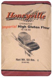 Imperial High Gluten Flour - Bulk 50 Pound Bag