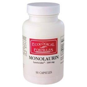 Formules écologiques / Res cardiovasculaires. - Monolaurin - 90 Caps.