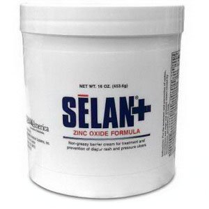 Selan Skin & Wound Zinc Oxide Barrier Cream, 4 oz. (Span America Medical Systems)