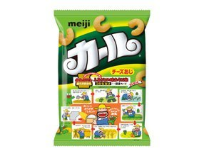 Japanese Snack Okashi Curl Cheeze 72g×10packs by curl cheeze