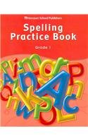 Storytown: Spelling Practice Book Student Edition Grade 1