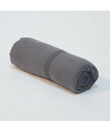 10XDIEZ Toalla Microfibra Gris - Medidas Toallas - 45cm x 90cm (Lavabo)