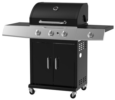 Amazon Com Chant Kitchen Equipment Bg2593b Gz 3 Burn Black Gas