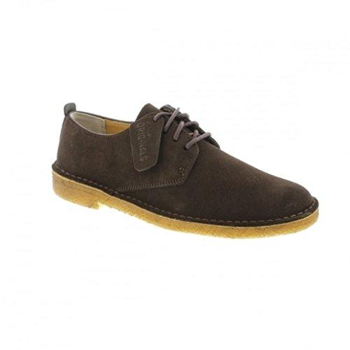 clarks-originals-mens-desert-london-dark-brown-suede-shoes-9-us