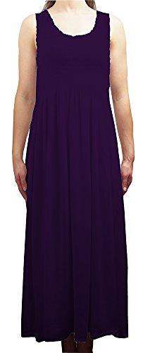 size mehrfarbig Kleid Mehrfarbig One Damen Kleid Violett Ikat FzSYw