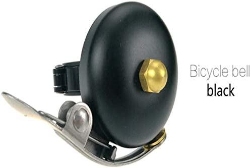 KingsleyW 厚い黄銅の自転車のベルの自転車の安全のアラームのベルの一般的な大声の声の赤ちゃんのキャリッジベルの自転車のベル (色 : Silver)