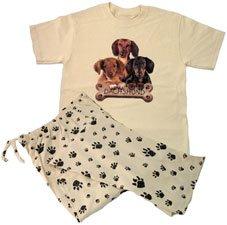 ef4818331af5 Amazon.com  Dachshund Pajamas  Clothing