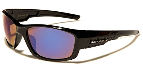 para Blanca SDK de sol hombre Raya SUNGLASSES Negro Gafas 61wAZ