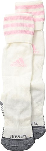 adidas Kids Unisex Copa Zone Cushion III OTC Sock (Toddler/Little Kids/Big Kids) White/Diva X-Small by adidas (Image #3)