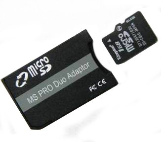 Rydges Adapter Micro SD zu Memorystick Pro Duo bis 32 GB