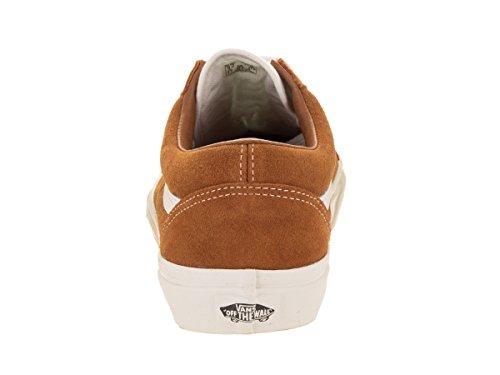 Leather Vans Ginger Skool Sneaker Retro Old Unisex Sport Glazed Erwachsene Schwarz rIq6pI