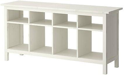 Ikea HEMNES - Mesa Auxiliar de Pino Macizo (157 x 40 cm ...