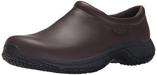 Merrell Men's Encore Moc Pro Grip Slip-Resistant Work Shoe, Espresso, 7 M US
