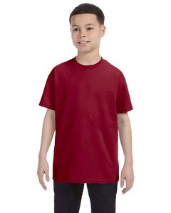 Jerzees Heavyweight Blend Youth Tee (Cardinal) (XL) (Blend Jerzees Youth Heavyweight)
