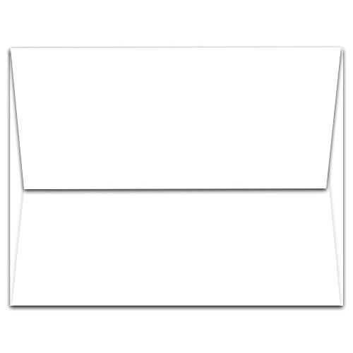 "Cheap 1,000 White A2 Envelopes - 5.75"" x 4.375"" - Square Flap for sale"