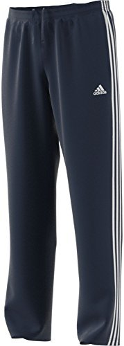 adidas Men's Essentials 3-Stripes Regular Fit Tricot Pants Collegiate Navy/White Medium S