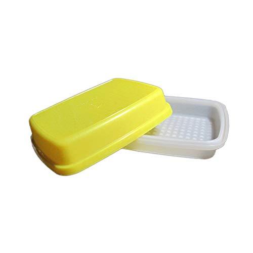 Tupperware Small Yellow Season Serve Junior Jr Marinator Tenderizer Container