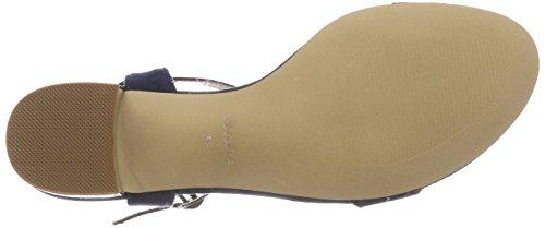 669131 9 Ankle Blu Sandals Strap WoMen BATA Blue 5H0zqq