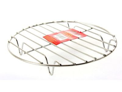 Stainless Steel 11 Inches Steamer Rack, Case of 24 by DollarItemDirect