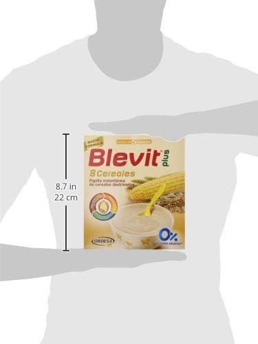 Blevit Plus 8 Cereales, Quinoa y Fruta - 300 gr: Amazon.es ...