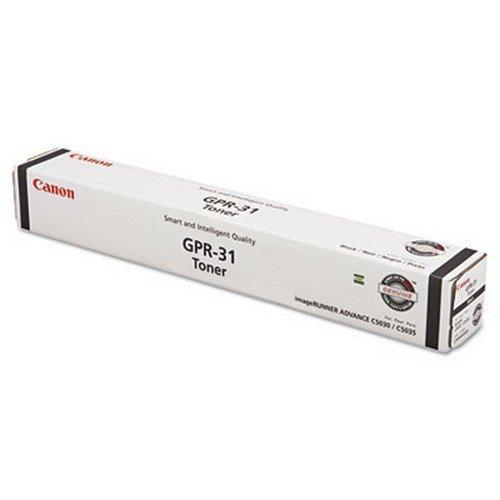 Canon GPR-31 Black Toner for Use In Imagerunner Advance C5030 C5035