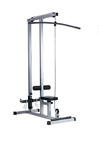 BuyHive LAT Pull Down Machine Low Row Cable Fitness Bar Machine Exercise Body Workout Strength Training