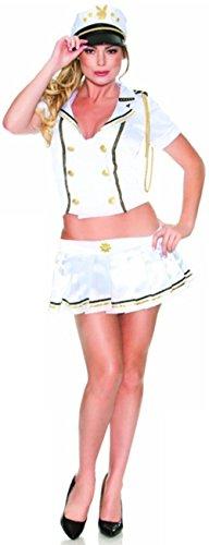 Playboy U.S. Costume, White,