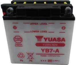 BATTERIA YUASA ROYAL ENFIELD BULLET ELECTRA X 500 2009-2016 YB7-A