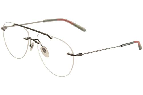 8f35cd681c Image Unavailable. Image not available for. Color  Eyeglasses Gucci GG 0398  O- 001 RUTHENIUM