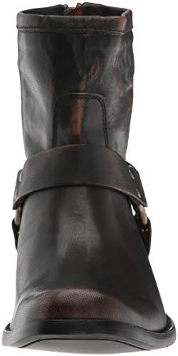 Boot Ankle Dark Short Women's Phillip Brown Harness FRYE qwvH7OxXn
