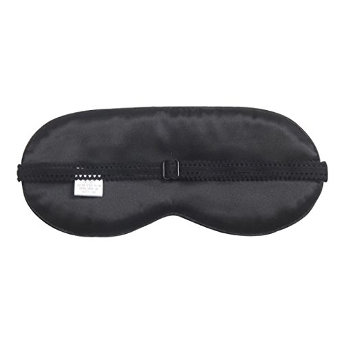 Natural Silk Creative Eye Mask Eyes Cover Eyeshade for Sleep and Travel Rest (Black Pirate) by Fenlm (Image #1)