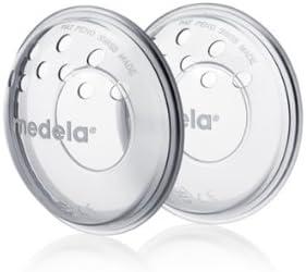 Medela- Protectores para Pezones Doloridos y Agrietados por la Lactancia , paqeute con 2 unidades