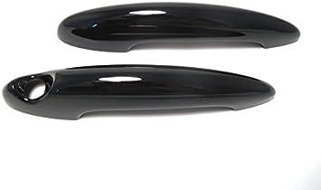 For MINI COOPER R55 R56 R57 R58 R59 R60 Piano Black Car Door Side Handle Cover