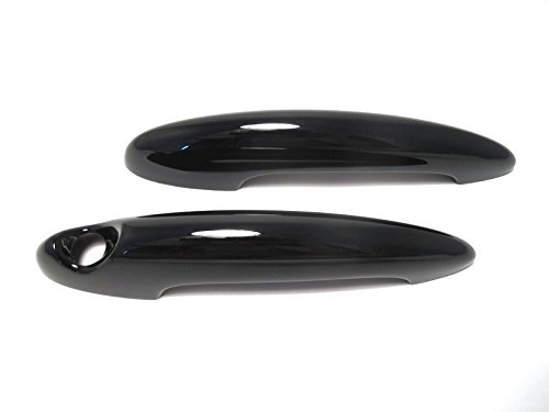 (Glossy Black Door Handle Cover for MINI COOPER R50/R52/R53/R55/R56/R57/R58/R59/R60 2001~2013)