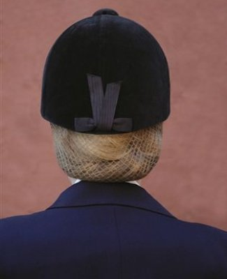 Ovation Riding Apparel Hair Net 2 Pack - Color:Blonde Size: