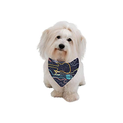 - Easter Pet Dog Cat Bandana Music Notes Music Design Romantic Elegant Creative Performance Fashion Printing Bibs Triangle Head Scarfs Kerchief Accessories For Large Dog Cat Pet Birthdays Party Gifts