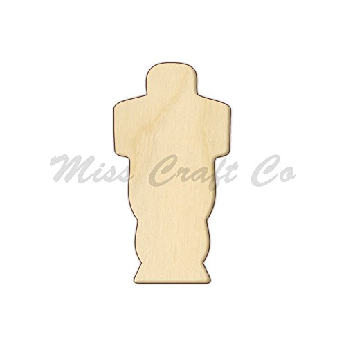 Mummy Wood Shape Cutout, Wood Craft Shape, Unfinished Wood, DIY Project. All Sizes Available, Small to Big. Made in the USA. 11 X 5.8 INCHES (Embalming Table compare prices)