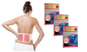 Heaven® Heat Pads Pain Relief Kit - 1 mesh support belt and 6 disposable, portable heat pads.