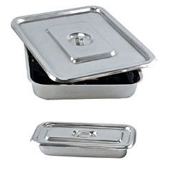 Apex Digital Stainless Steel Instrument Tray With Lid 10″ X 8″ (Set Of 2 Pcs) Price & Reviews